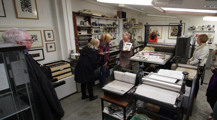 Swansea Print Workshop | Open Day 2017