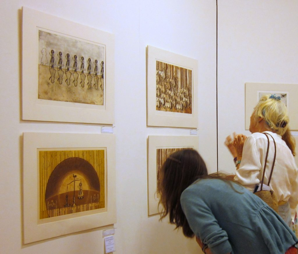 2013 |August 9 -September 14 Muhammad Atif Khan | 'Landscape of the Heart' | Oriel Ceri RIchards | Swansea