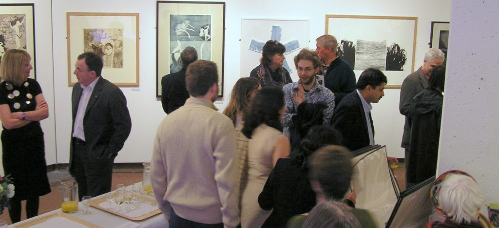 Opening of the Contemporary Pakistani Printmakers Exhibition at Oriel Ceri Richards | Swansea