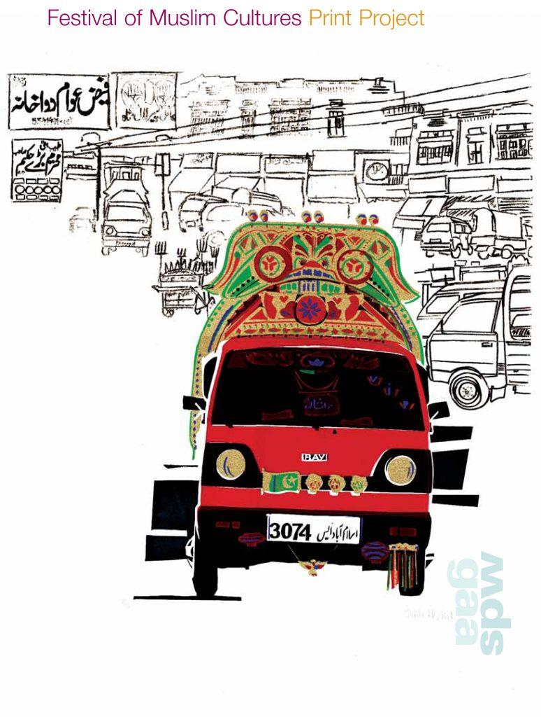 Festival of Muslim Cultures Print Project catalogue